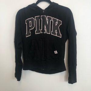 PINK Victoria's Secret Hooded Zip-Up
